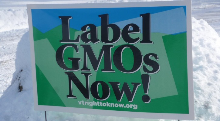 Label GMO Yard Sign