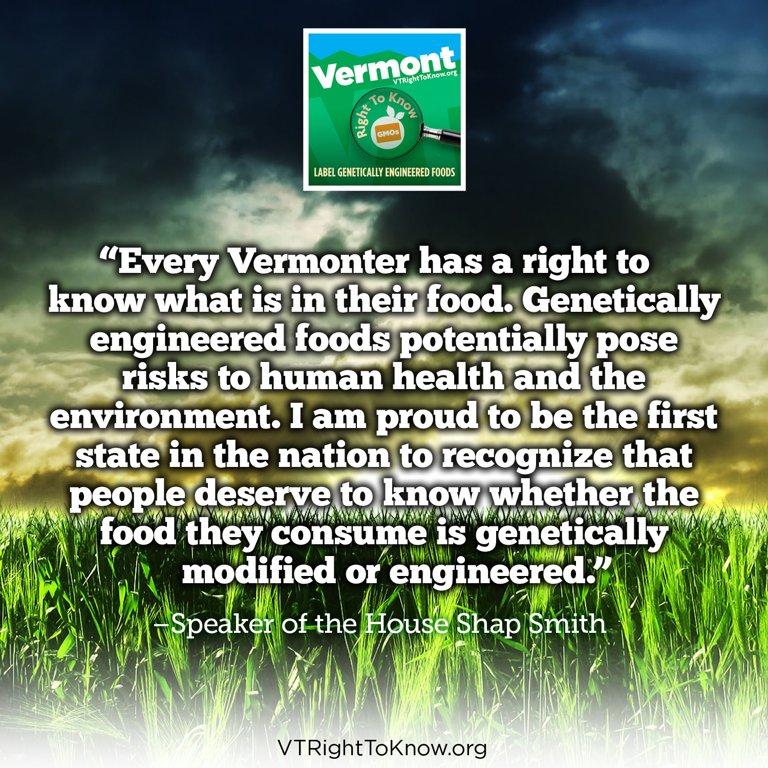Vermont Right to Know GMOs | A Collaborative Project of