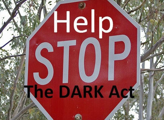 Help stop the dark act